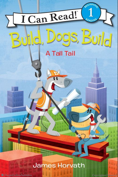 """Build, Dogs, Build"" book cover"