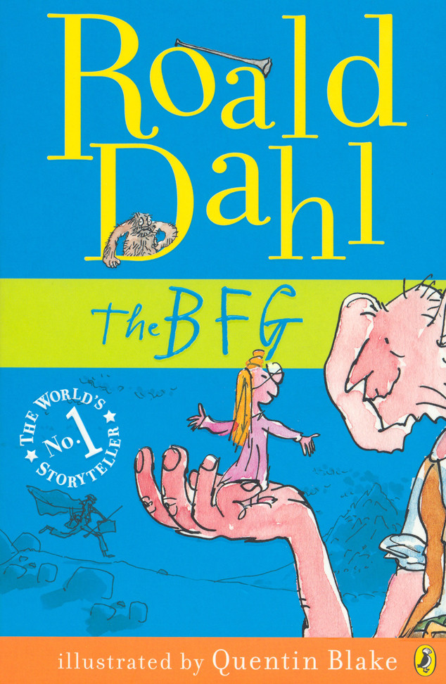 """The BFG"" book cover"