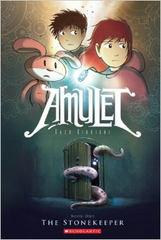 """Amulet"" book cover"